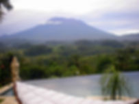 Balis holy Mt Agung