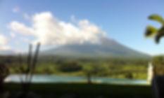 Ckouds over Mt. Agung