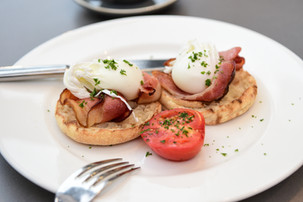 Breakfast available daily at ibis Kitchen