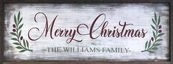 #29 Merry Christmas - With Name