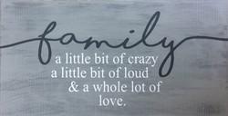#95 family... a little bit crazy
