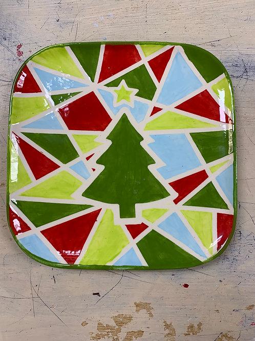Mosaic Tree Plate