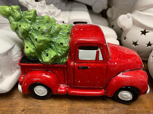 Truck with Tree Lantern