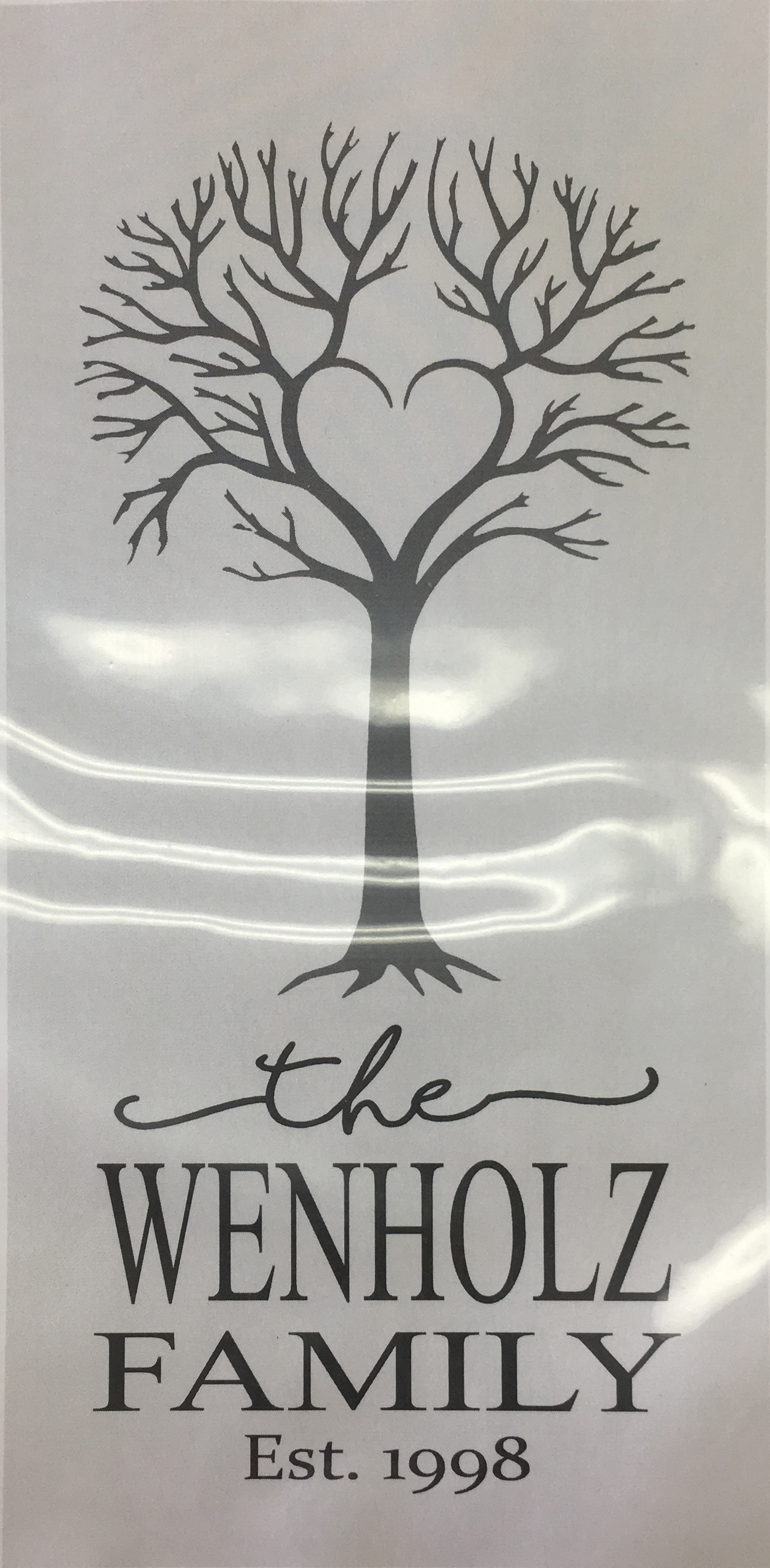 #11 Heart Tree w/Est. Date