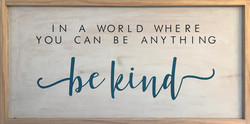 #124 Be Kind
