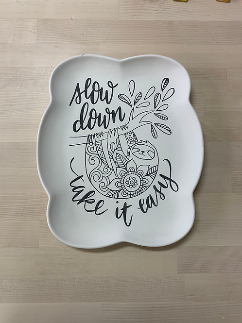 Sloth Plate