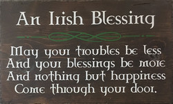 #105 Irish Blessing