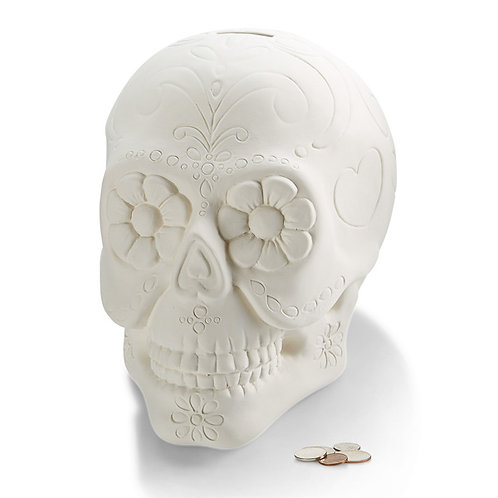 Biggy Sugar Skull Bank