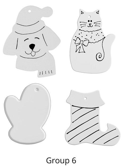 Glaze Ornament Kit Group 6