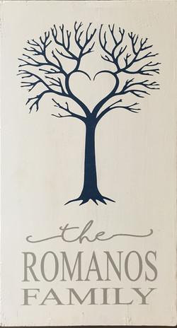 #9 Heart Tree Family Name