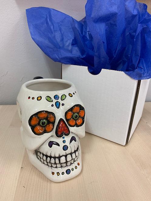 Sugar Skull Mug Kit