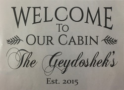 #18 Welcome to Our Cabin
