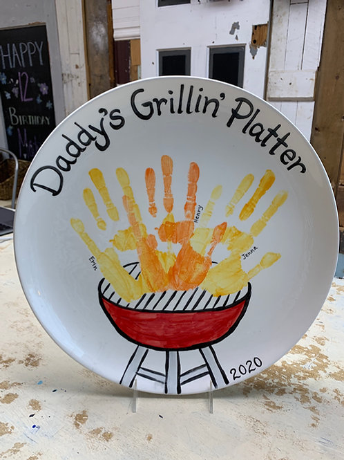 Daddy's Grillin Plate
