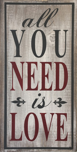 #85 All you Need is love