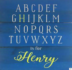 #21 Alphabet Name