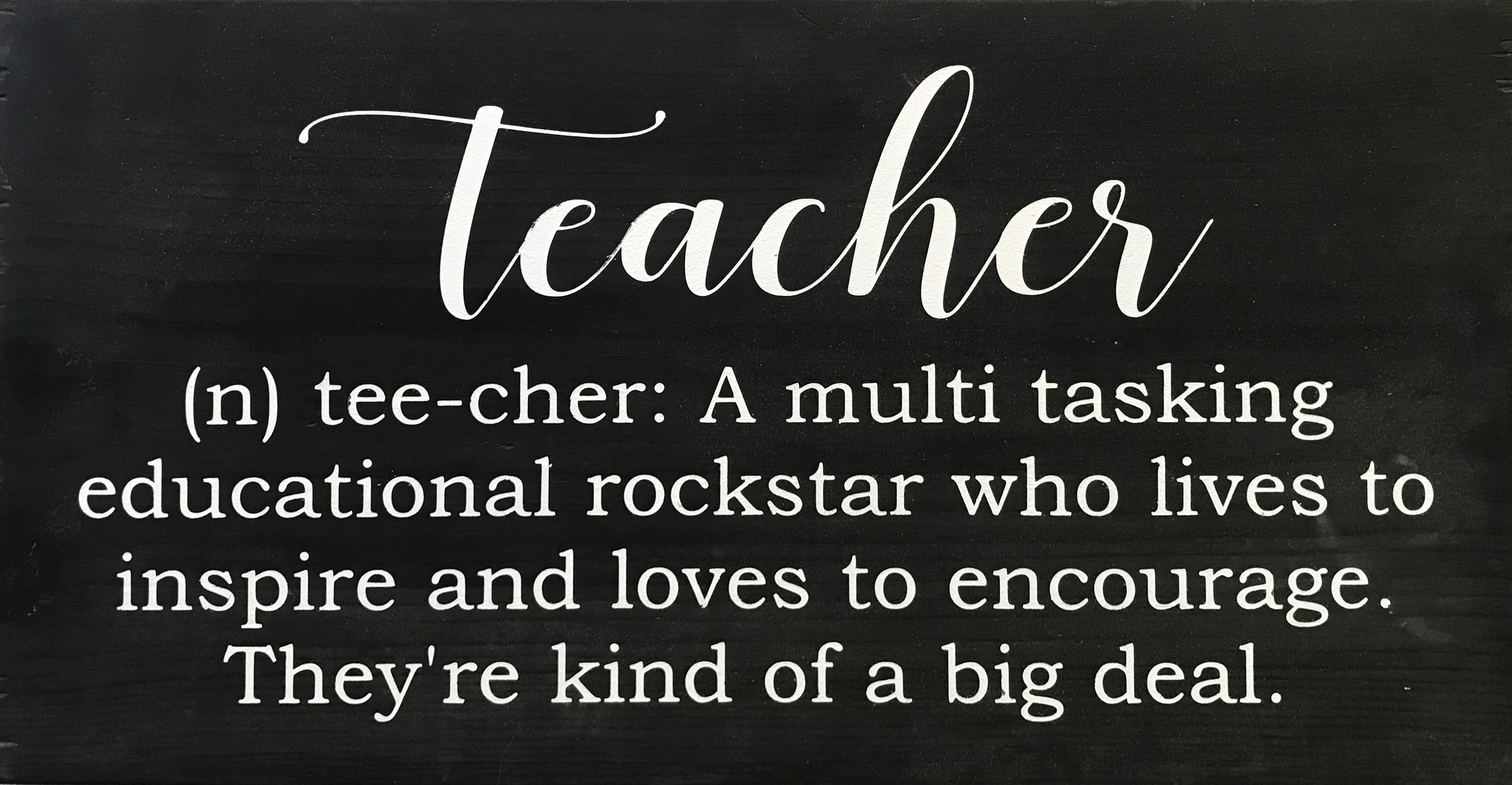 #122 Teacher