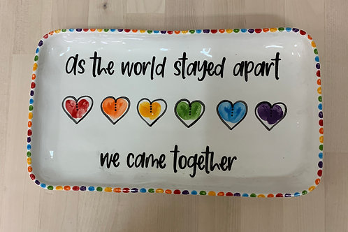 As The World Stayed Apart We Came Together