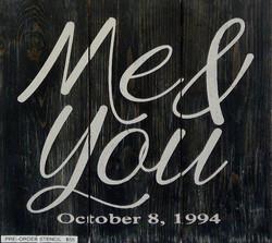 #19 Me & You