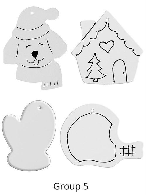 Glaze Ornament Kit Group 5