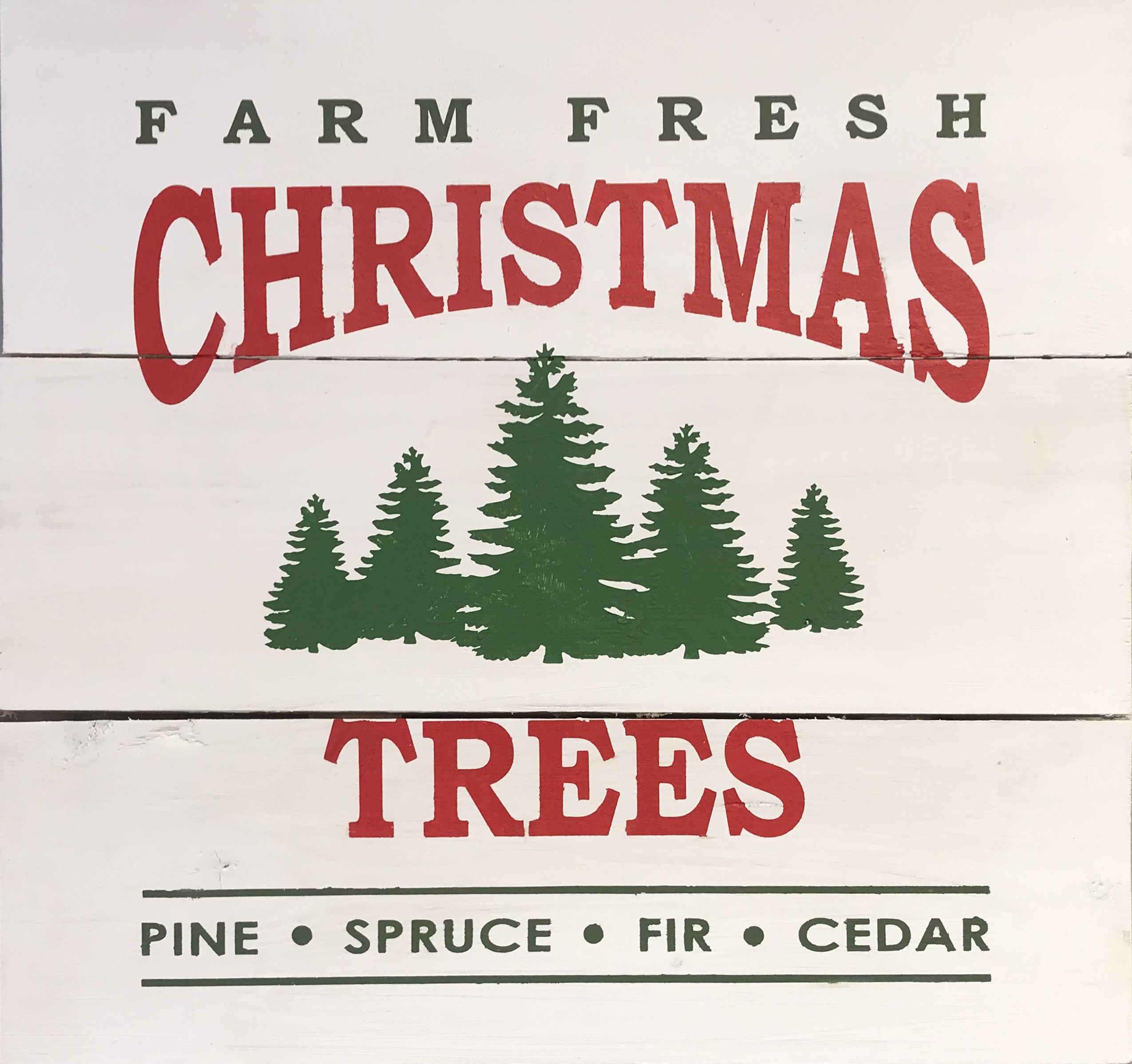 #120 Farm Fresh Christmas