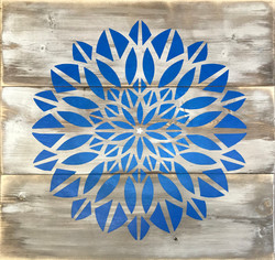 #128 Large Flower Mandala