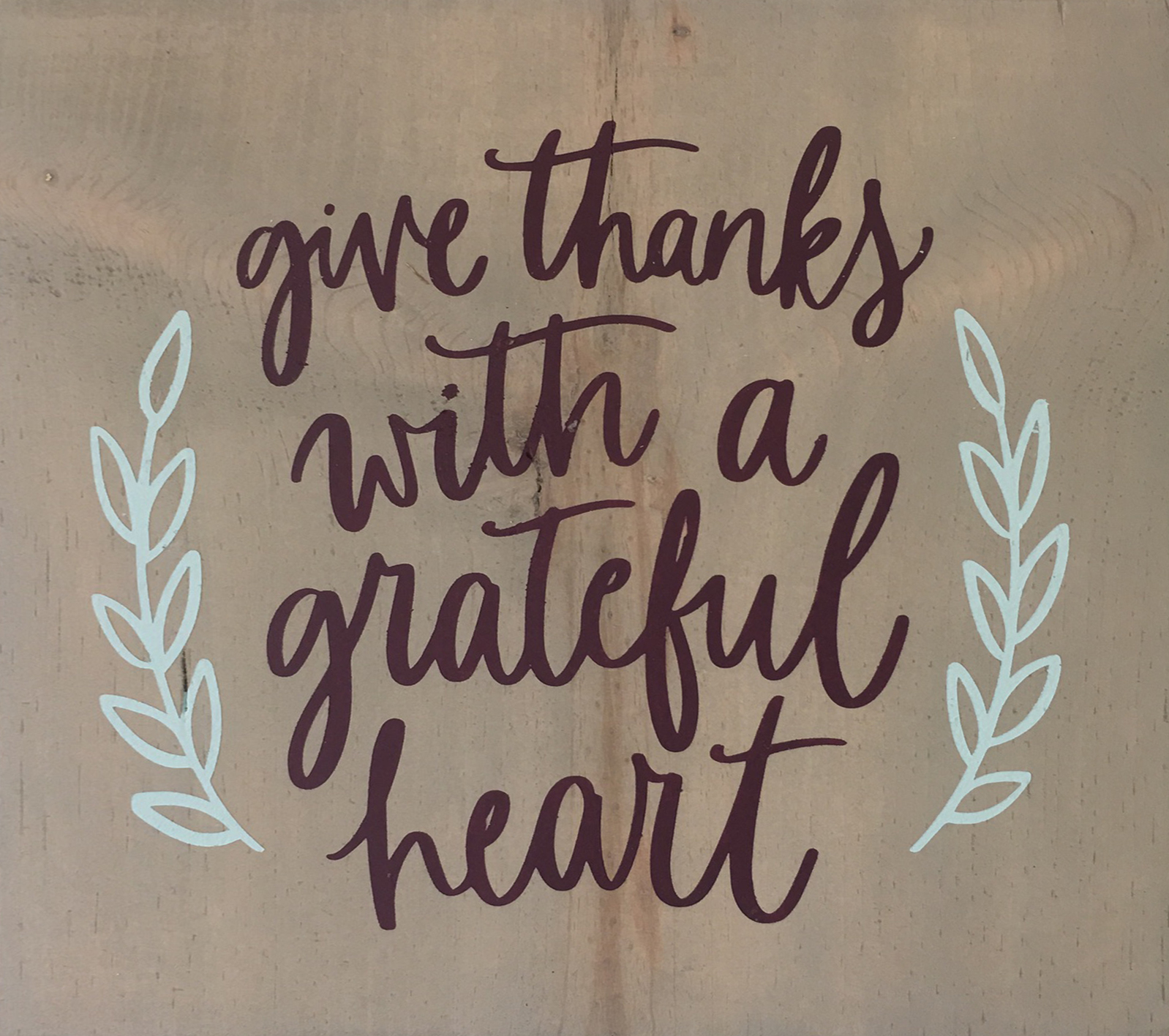 #92 Give Thanks Grateful Hearts