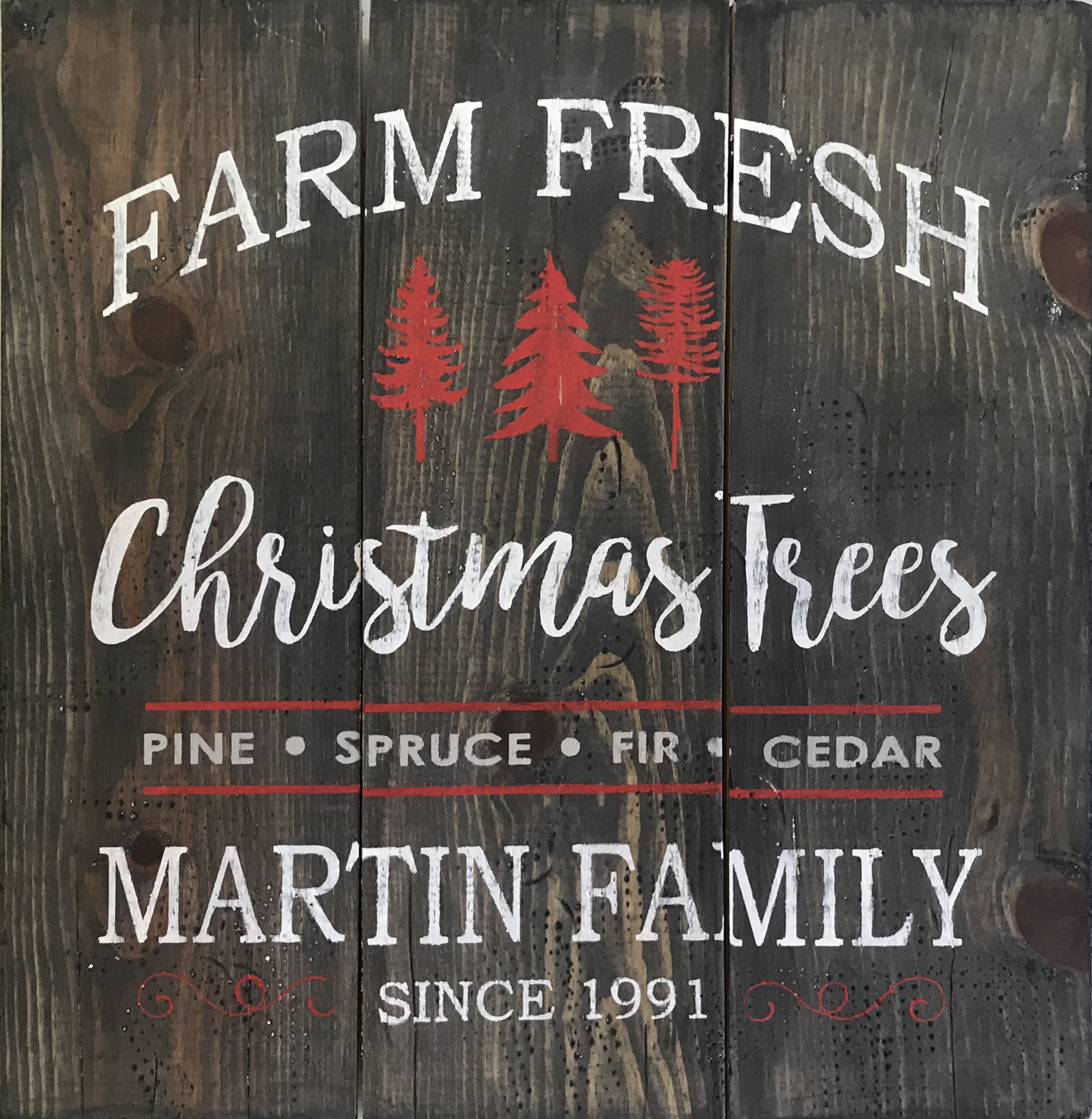 #23 Farm Fresh Christmas - with name