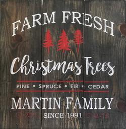 #23 Farm Fresh Christmas - with name