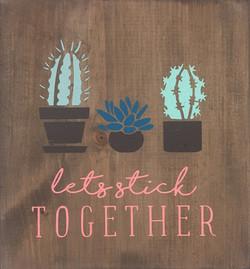 #86 Let's stick together