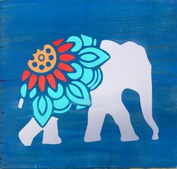 #129 Elephant Mandala