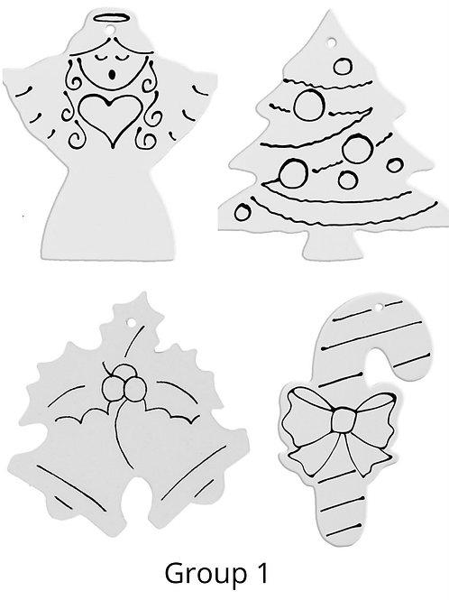 Glaze Ornament Kit Group 1