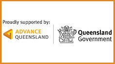 Advance Queensland Qld Govt proudly supp