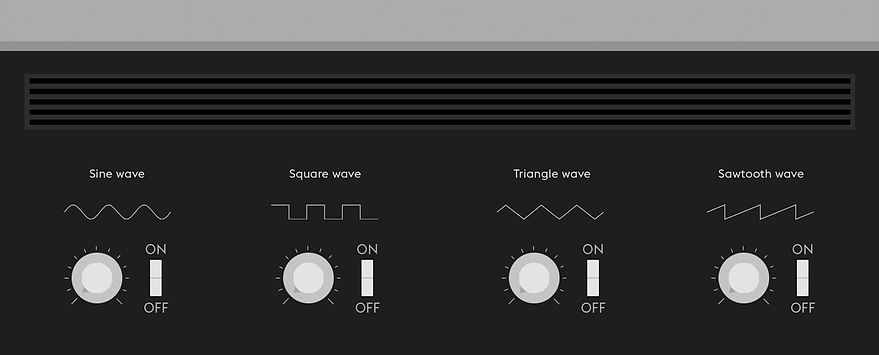 The World of the Synthesizer interactive sound board design