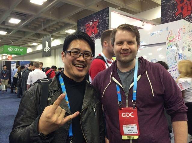 Facebook - I met Chris Kohler whilst in was wandering the Expo floor! His book,