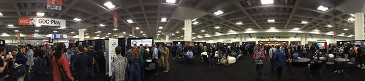 Facebook - GDC 2014 Expo Floor, Friday afternoon.jpg Here, careers are beginning