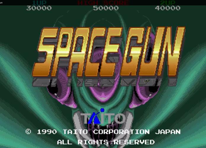 Reflections on Space Gun (Arcade; Taito, 1990)