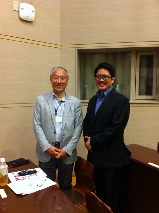 Facebook - With Professor Masayuki Uemura, the creator of the original Nintendo