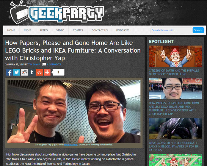 Geek-partying with Tim Evans of GeekParty