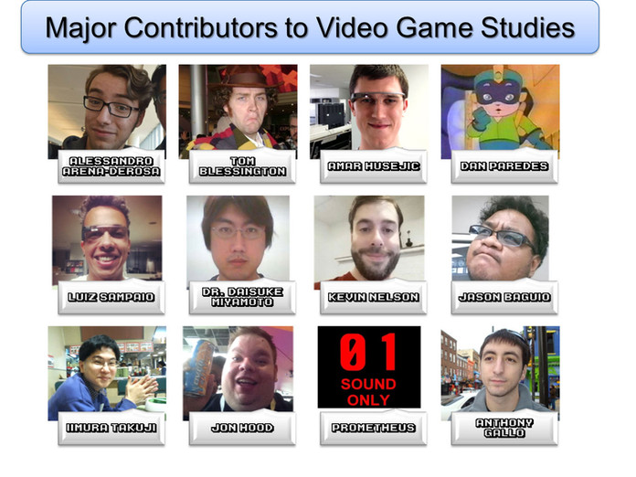 """Major Contributors Acknowledgements Slide"""