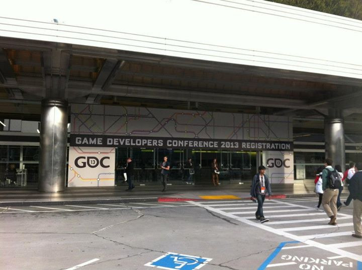 Facebook - Mon. March 25th: I got to Moscone Center at 7:30am to register becaus