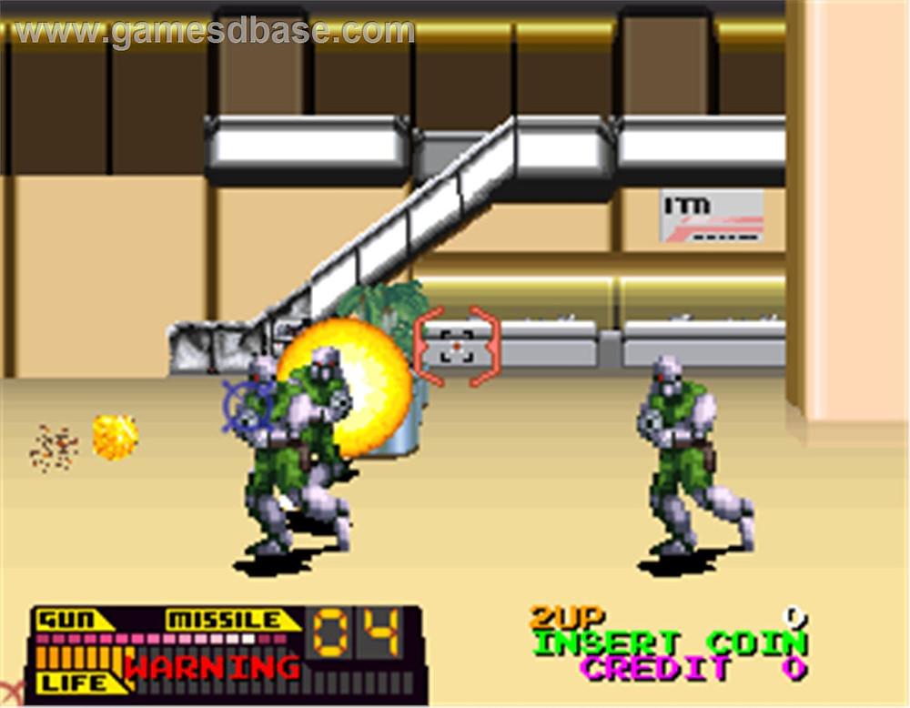 Steel Gunner (Namco)