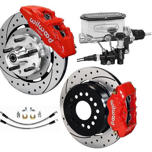 Wilwood Complete Dynapro/Dynalite Street Brake System