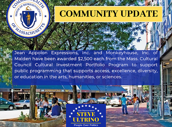 Two Malden Cultural Organizations Awarded a Total of $5000