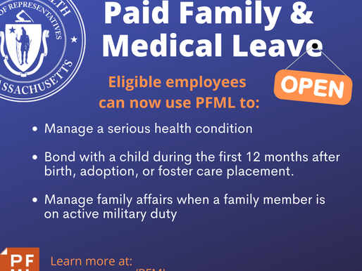 THE DEPARTMENT OF FAMILY AND MEDICAL LEAVE HAS RELEASED RESOURCES FOR PAID FAMILY AND MEDICAL LEAVE