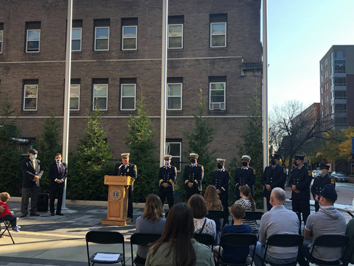 Second Firefighter Induction and Promotion Ceremony