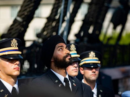 Malden's Second Lieutenant Kanwar Singh Recognized for Leadership and Service