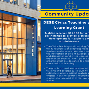 FY22 Civics Teaching and Learning Grant Awardees Announced