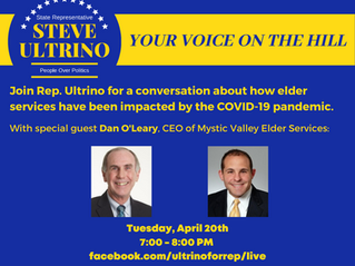 NEW INSTALLMENT OF YOUR VOICE ON THE HILL FEATURING DAN O'LEARY, CEO OF MYSTIC VALLEY ELDER SERVICES