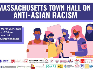 APIs CAN, Greater Boston Legal Services, & the Asian Caucus are hosting a townhall event  6pm 03/25