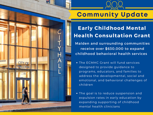 FY22 Early Childhood Mental Health Consultation Grant Awardees Announced